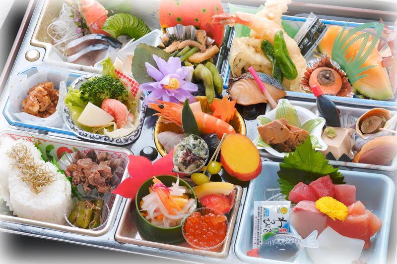 有限会社上市魚市場 四季の味 なかたに【仕出し専門店】