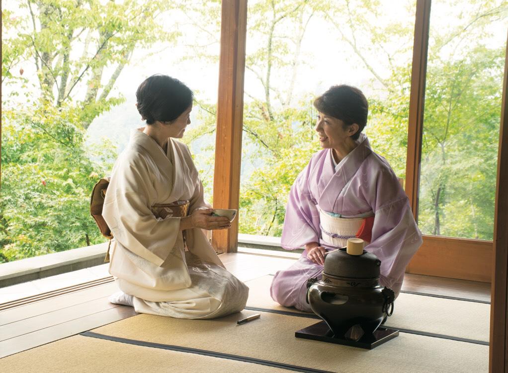【募集中止】吉野山女将 笑の会協力『吉野山・白雲荘でお茶会体験』②