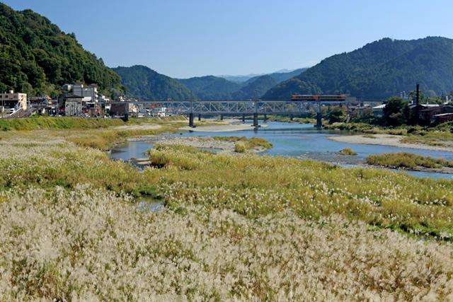 鉄橋(吉野川橋梁)